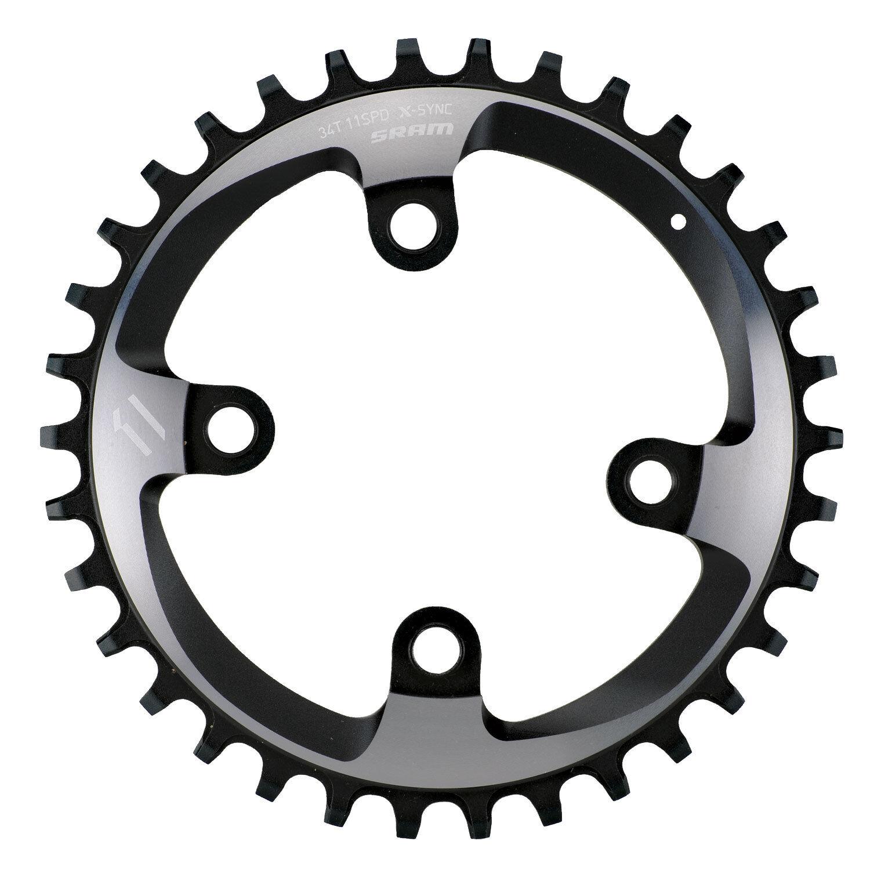 SRAM Truvativ XX1 1x Mountain Bike MTB Chainring 76mm BCD - 34t