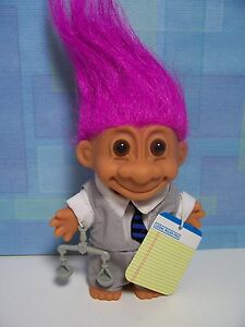 LAWYER-ATTORNEY-5-Russ-Troll-Doll-NEW-IN-ORIGINAL-WRAPPER-Very-Rare