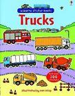 Trucks Sticker Book by Sam Taplin (2008, Paperback)