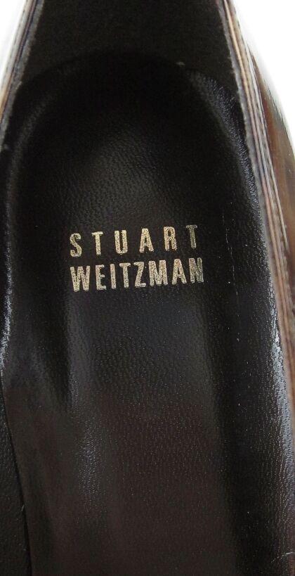 Stuart Weitzman Point Toe Cheetah Pumps Sz 8M AMAZING Worn Worn Worn 1X 790993