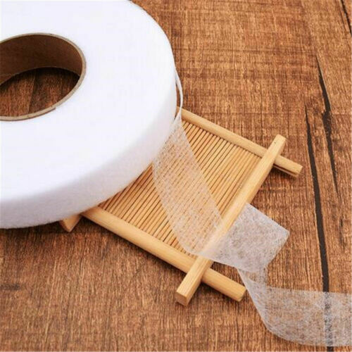 70 Yards Double Sided Fusible Sewing Fabric Hemming Tape DIY Cloth Craft 4 Size