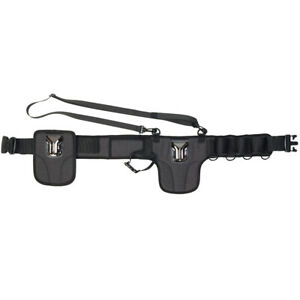 CADeN-Camera-Waist-Belt-Waistband-Strap-Holder-Holster-Black-62-99inches-Adjust