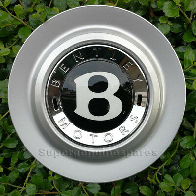 1 NEW GENUINE BENTLEY CONTINENTAL GT GTC SPUR CENTRE BOSS BADGE HUB CAP