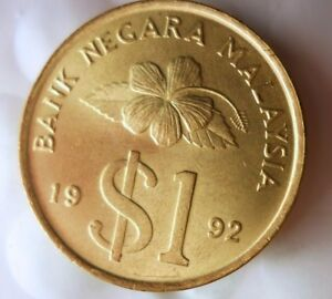 1961 H MALAYA 10 CENTS Great Collectible Coin Free Ship AU Malaya Bin AA