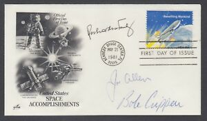 Richard-Truly-Bob-Crippen-Joe-Allen-US-Astronauts-signed-Space-Achievements