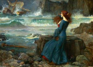 John-William-Waterhouse-CANVAS-WALL-ART-PICTURE-20X30-INCHES