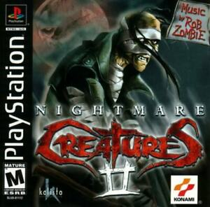 Nightmare-Creatures-2-PS1-Great-Condition-Fast-Shipping