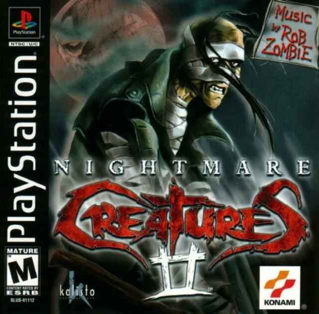 Nightmare Creatures 2 PS1 Great Condition Fast Shipping