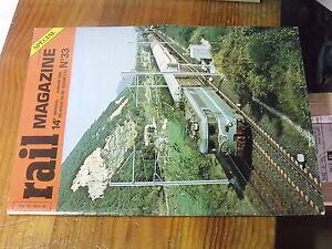 8µ? Revue Rail Magazine n°33 La DB Amiens-Calais en vapeur C 61000