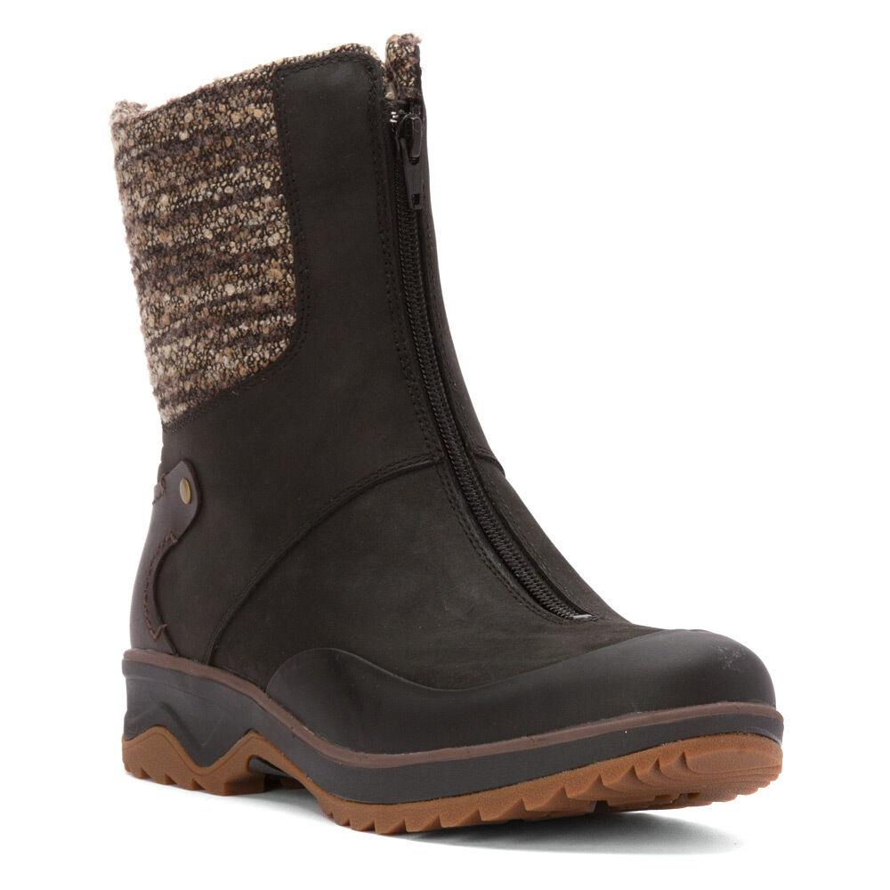 Women's Merrell Eventyr Bond Waterproof ZipOn Hiker Boot Black J42404