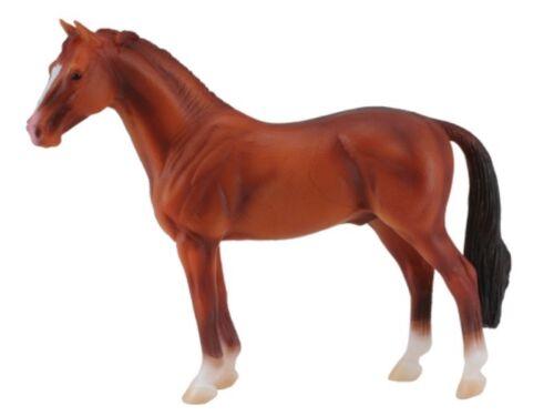 Collecta 88432 Hannoveraner Stallone CHESTNUT Stallion 15 cm Mondo Cavalli