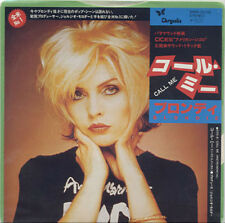 BLONDIE - Call Me/Call Me Instrumental 1980 JAPANESE PICTURE SLEEVE 45