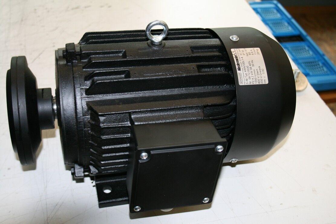 Kreissägemotor KRN100LX-4,, 7,5KW, 1350U min, 400V, Kreissägenmotor, Kappsäge