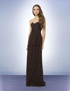 0ded36430d5 Image is loading Bill-Levkoff-Bridesmaid-Dress-772-Prom-Wedding-Chiffon-