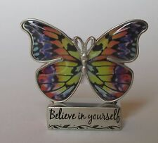 n Believe in yourself BUTTERFLY BLESSINGS FIGURINE ganz inspirational message