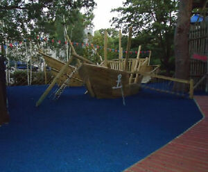 Childrens Safety Surface For Outdoor Garden Fun Soft Play Area - Soft flooring for children's play area