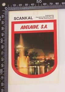 VINTAGE-ADELAIDE-SOUTH-AUSTRALIA-SA-SOUVENIR-VINYL-TOURIST-STICKER