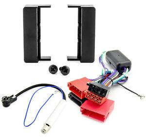 Radioblende-Set-AUDI-A3-A4-A6-A8-TT-Radio-Blende-Adapter-Kabel-Phantomspeisung
