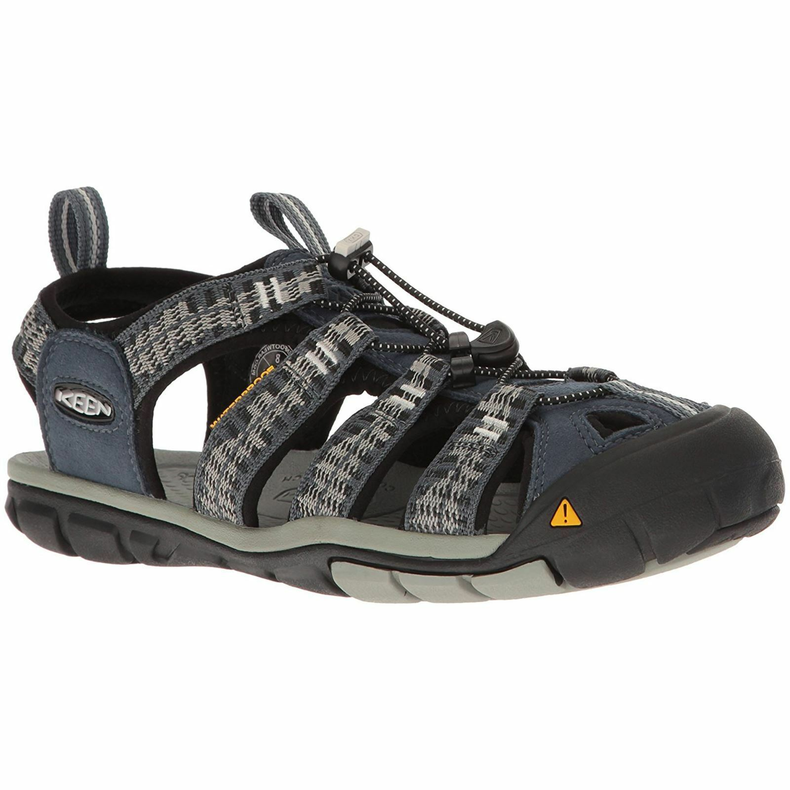Keen Clearwater CNX Midnight Navy Vapor Mens Slip-On Hiking Outdoor Sandals