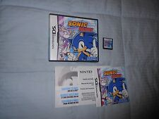 Sonic Rush  (Nintendo DS, 2005)COMPLETE Game Case Intruction Manual