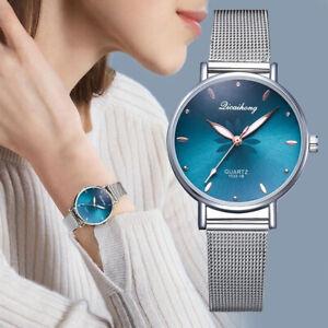 Women-Luxury-Wristwatches-Metal-Dial-Flowers-Bracelet-Quartz-Wrist-Watch-Gift