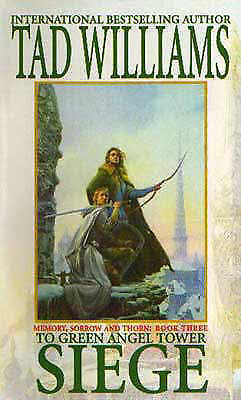 Siege (Memory, Sorrow & Thorn) by Tad Williams, Acceptable Book (Paperback) Fast