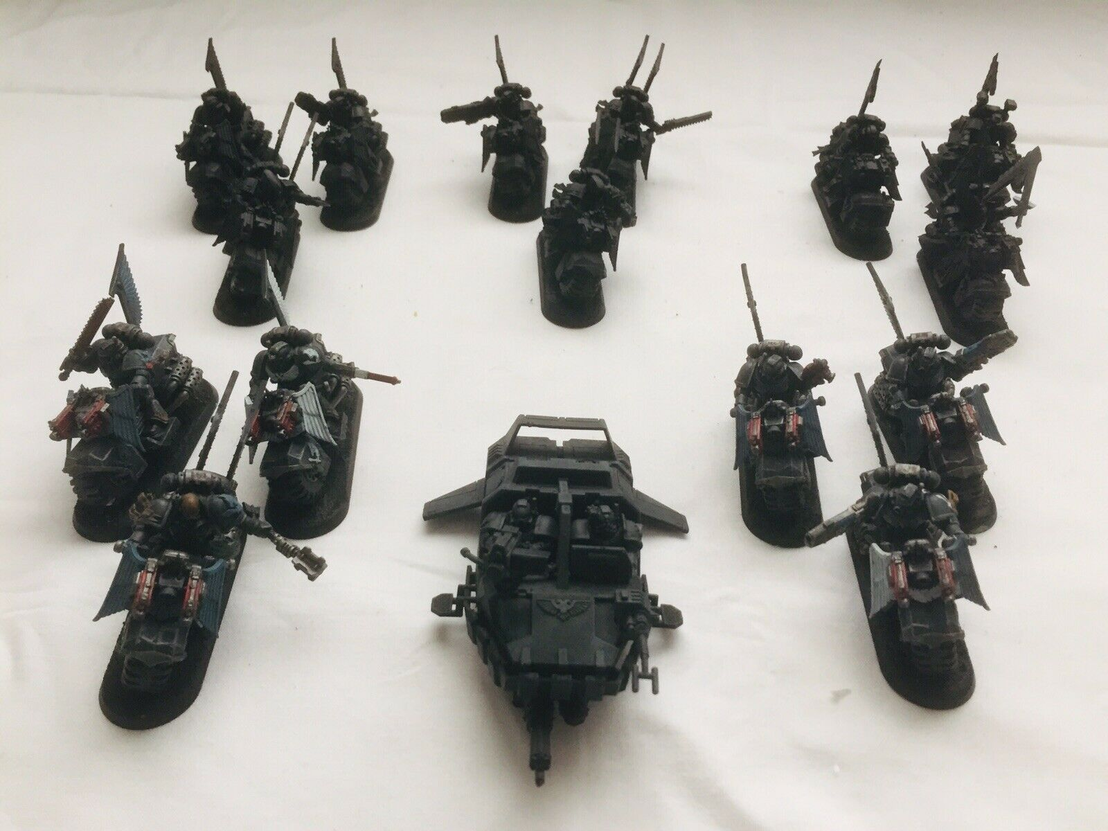 Ángeles oscuros Ravenwing ejército