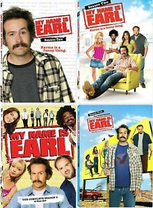 My Name is Earl Complete TV Series Seasons 1 2 3 4 (1-4) NEW DVD Set Bundle