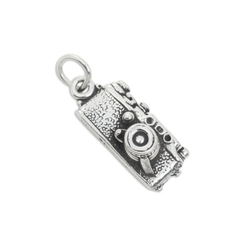 925 Sterling Silver Camera Charm