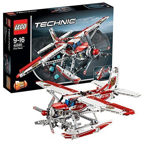 LEGO Technic (42040)  2-in-1  Fire Plane (Brand New & Sealed)