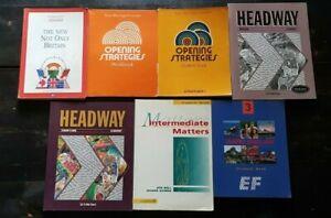 7-Libri-Pacchetto-di-Lezioni-Inglese-Corsi-di-Lingua-x-Principiante-Avanzati