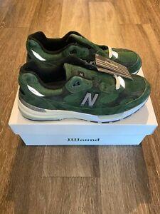 JJJJound New Balance 992 Green M992JJ
