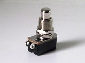 foot switch push to make non latching spst heavy duty for guitar effects pedals 8715693047776 ebay. Black Bedroom Furniture Sets. Home Design Ideas