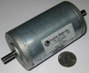 Buehler-12-V-DC-Big-Hobby-Motor-Very-High-Torque-4000-RPM-Dual-6-mm-Shaft