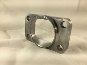 "T3 Turbo Inlet Flange To 2.5"" Opening, Undivided, Smooth Airflow , US MADE"