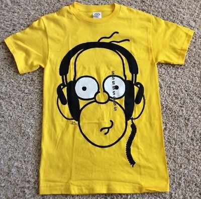 Brand New HOMER SIMPSON with Music Headphones SMALL Bright ...