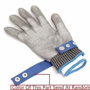 Safety Cut Proof Stab Resistant Anti-knife Stainless Steel Mesh Butcher Glove