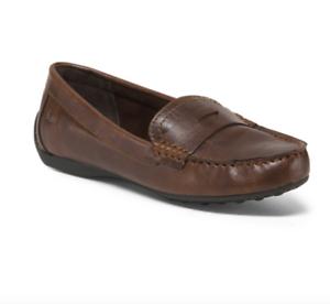 NEW BORN B.O.C PAMELA PENNY LOAFERS Schuhe 6 Damenschuhe 6 Schuhe SLIP ONS BROWN ... 4bb258