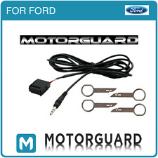 FORD FOCUS MONDEO 6000CD AUX IN INPUT ADAPTER CABLE LEAD IPOD MP3 + REMOVAL KEYS