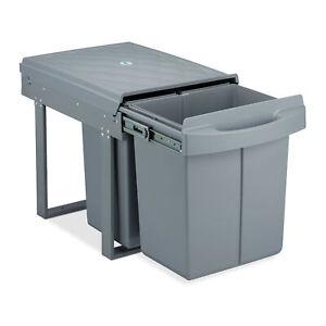Einbaumülleimer 3fach Trennmülleimer Abfallsystem Küchenmülleimer Mülltrenner