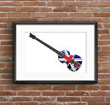 Paul McCartney's Hofner Jubilee Violin Bass - POSTER PRINT A1 size