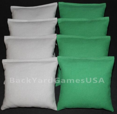 ALL WEATHER CORNHOLE BEAN BAGS Gray /& Grass Resin Filled WATERPROOF
