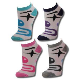 12-Paar-Damen-Freizeit-Sneakers-mit-Motivdruck-mehrfarbig
