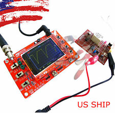 Fully Assembled Na Dso138 24 Tft Digital Oscilloscope 1msps With Free Probe