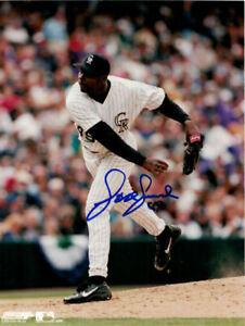 Jose Jimenez Autographed/Signed Colorado Rockies 8x10 Photo 11811