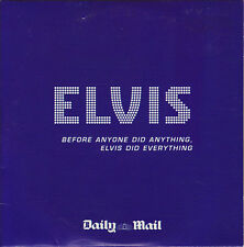 ELVIS PRESLEY: BEFORE ANYONE DID ANYTHING, ELVIS DID EVERYTHING - UK PROMO CD