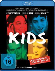 KIDS-Blu-ray-1995-Larry-Clark-Movie-AIDS-HIV-NYC-Rare-Film-German-Import