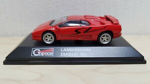 1 72 Yodel G Space Real X Lamborghini Diablo Sv Red Diecast Car