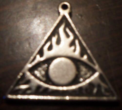 "/"" Alleged /"" Spellbinder Mauvais Oeil Noire Magie Protection Pendentif Charm"