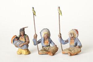 Hauser-Elastolin-Three-Indian-Elastolin-Germany-Solid-79674